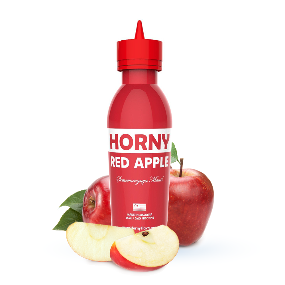 Horny-Red-Apple-with-frut